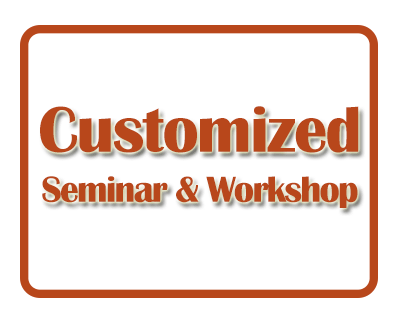 Customised Seminar and Workshop for Corporate Clients